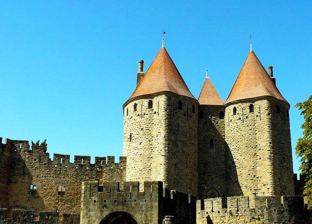 Средневековый Каркассон