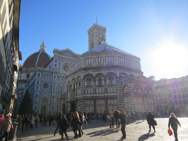Прогуливаясь по Флоренции.