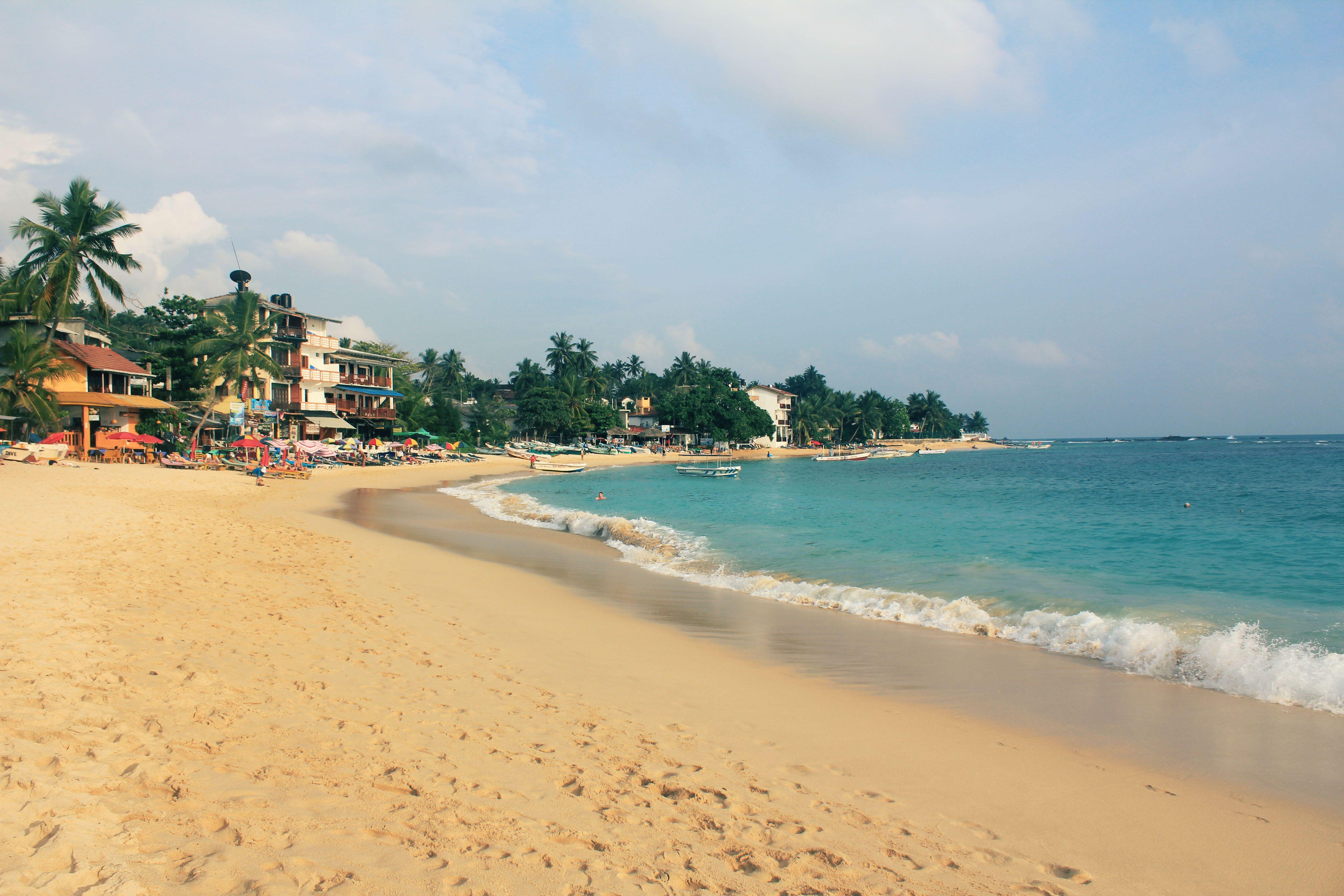 Мальдивский пляж на шри ланке фото