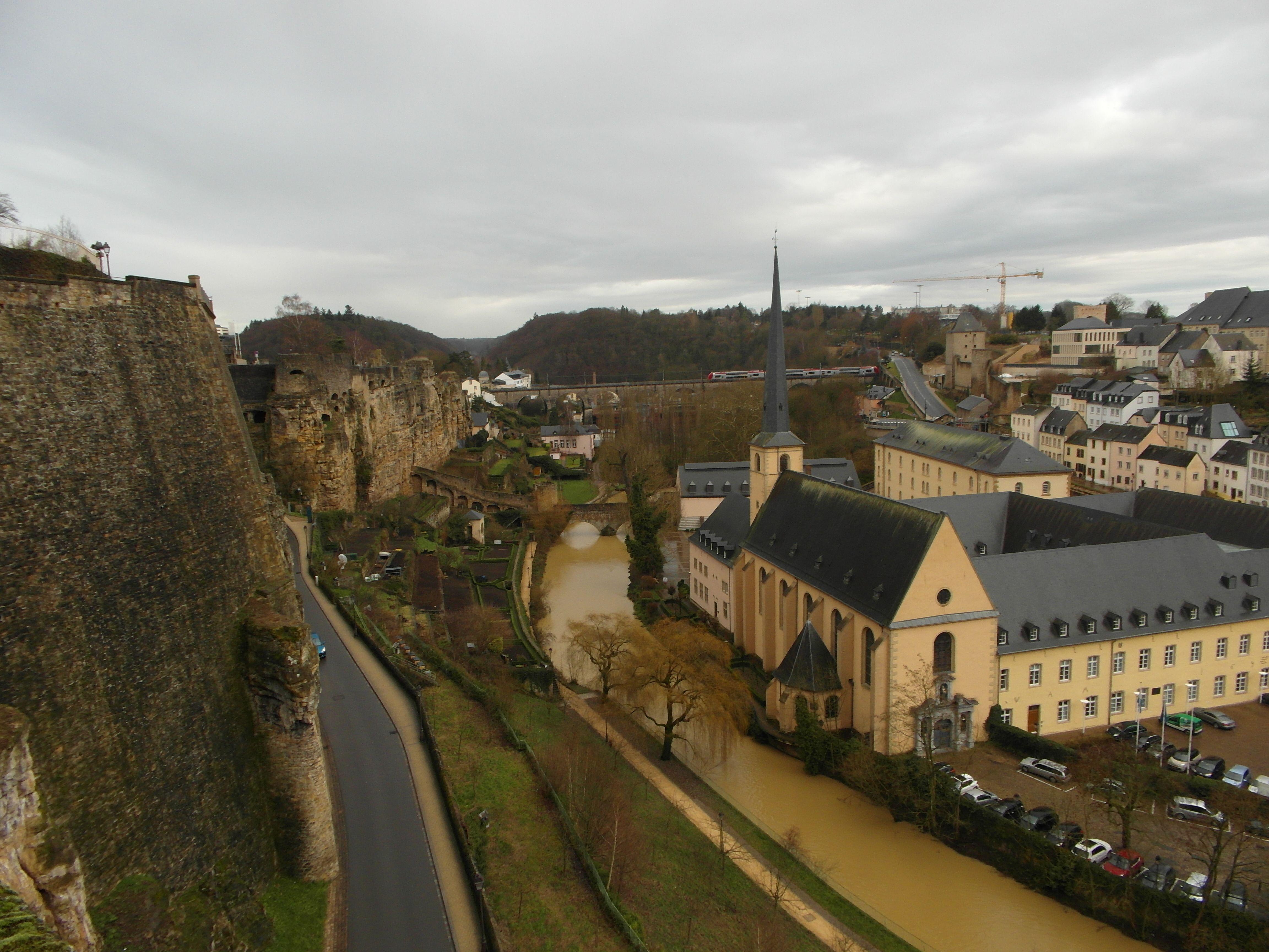 Как добраться до Люксембурга