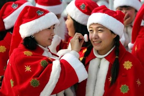 Картинки по запросу как отмечаю новый год в азиатских странах
