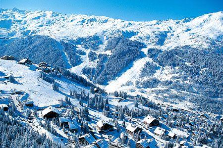 Зимние курорты Франции