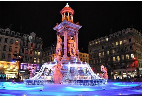 Фестиваль огней в Лионе, Франция